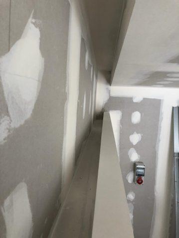 Zona para ocultar la luz indirecta en Pladur