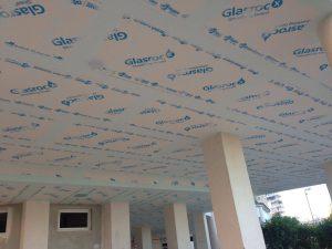 Instalación de techos exteriores en comunidad