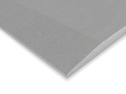 Placas de yeso laminado standard